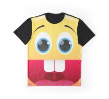 Smiley. Face with a big smile Graphic T-Shirt