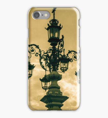 An Ancient Streetlight iPhone Case/Skin