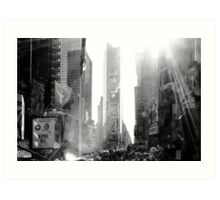 Broadway New York Art Print
