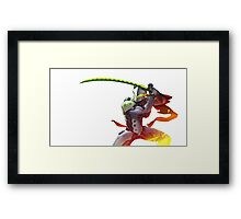 Genji - Overwatch Framed Print