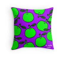 La Mela Isola - She'll Be Apples Cushion Throw Pillow