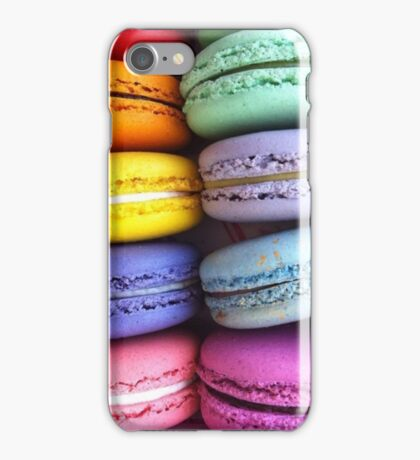 Sweet Macarons Delicious Food iPhone Case/Skin
