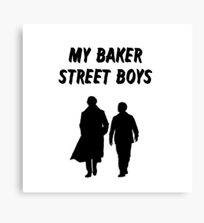 My Baker Street Boys {FULL} Canvas Print