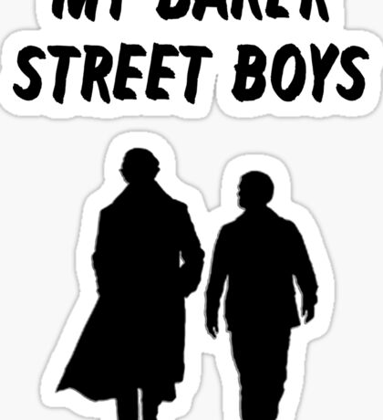 My Baker Street Boys {FULL} Sticker
