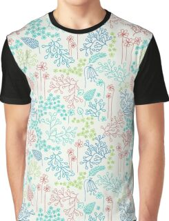 Floral Meadow Graphic T-Shirt