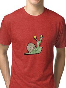 cartoon snail Tri-blend T-Shirt