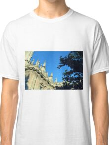 The Cathedral of Saint Mary of the See, Seville Cathedral, in Seville, Andalusia, Spain. Gothic style architecture in Spain. Classic T-Shirt