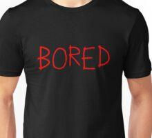 Bored concept. Unisex T-Shirt