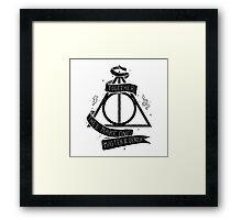 Harry Potter - Deatlhy Hallows  Framed Print