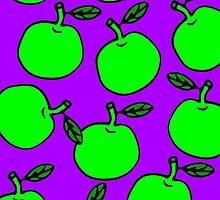 La Mela Isola - She'll Be Apples Poster by la-mela-isola