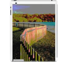 Curved fence iPad Case/Skin