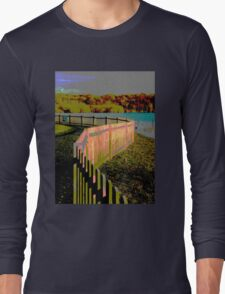 Curved fence Long Sleeve T-Shirt