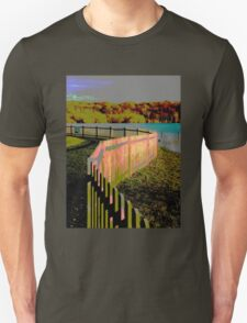 Curved fence T-Shirt