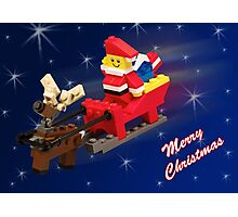 Santa is on His Way! Photographic Print