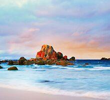 Deep Creek in Water Colour, Tasmania by Angelika  Vogel