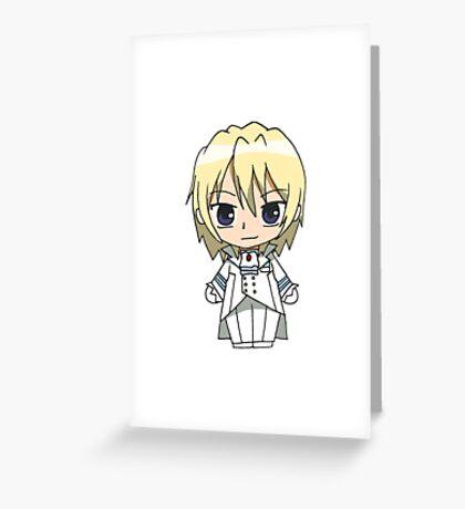 Black Butler (Kuroshitsuji)  Greeting Card