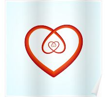 Self-Love Spiral Heart  Poster