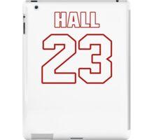 NFL Player DeAngelo Hall twentythree 23 iPad Case/Skin