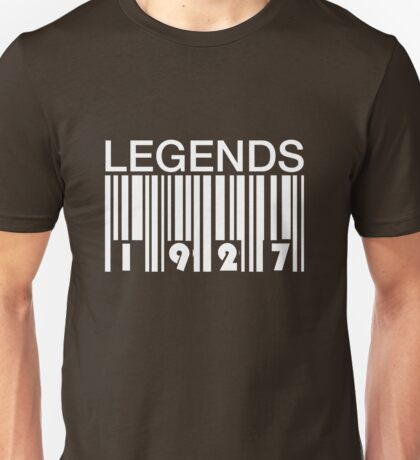 Legends 1927 Unisex T-Shirt