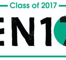Senior Girls 17 Sticker