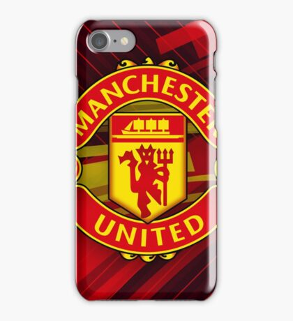 Manchester United Full Color iPhone Case/Skin