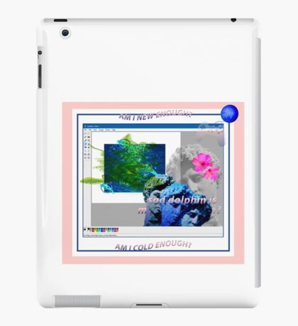 Mermaids are Dolphins iPad Case/Skin