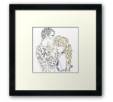 Feyre and Rhys Framed Print