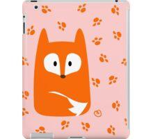 Cute Fox design artwork iPad Case/Skin