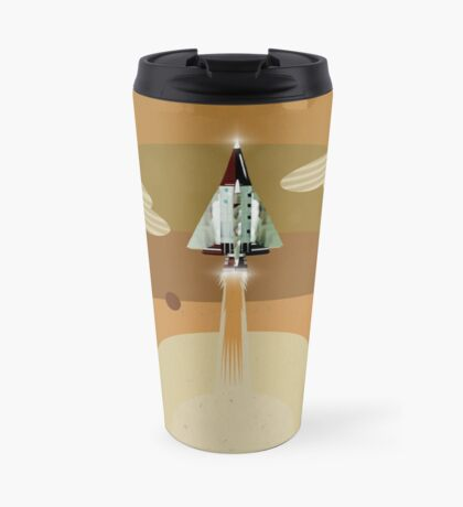 the adventure continues Travel Mug