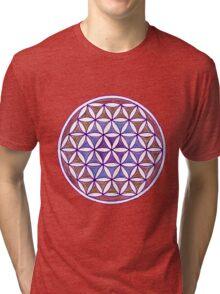 Flower of Life - Quiet Contemplation Tri-blend T-Shirt