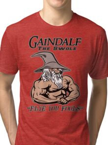 Gaindalf The Swole Tri-blend T-Shirt