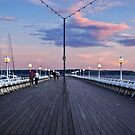Torquay Pier by Lissywitch