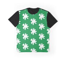 Flake in Green Graphic T-Shirt