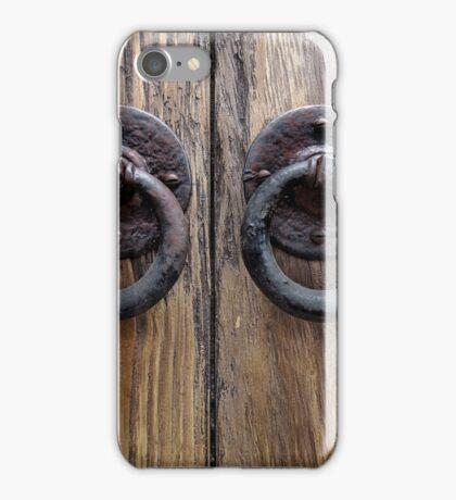 Door Knockers  iPhone Case/Skin