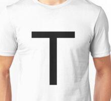 Alphabet T Unisex T-Shirt