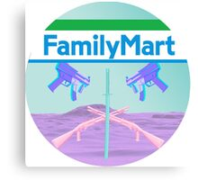 FAMILYMART Canvas Print