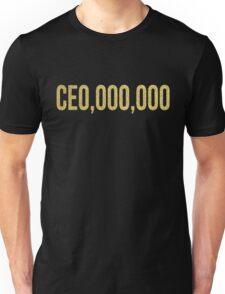 CE0,000,000 CEO,OOO,OOO Unisex T-Shirt