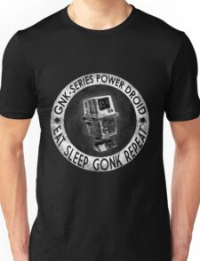Star Wars Gonk Droid eat sleep gonk repeat Unisex T-Shirt