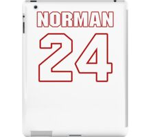 NFL Player Josh Norman twentyfour 24 iPad Case/Skin