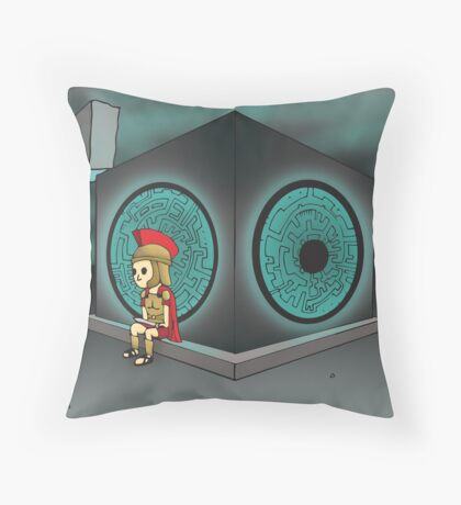 The Last Centurion Throw Pillow
