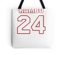 NFL Player Bacarri Rambo twentyfour 24 Tote Bag