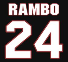 NFL Player Bacarri Rambo twentyfour 24 by imsport
