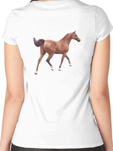 RACE HORSE, HORSE, Racing Horse, Ride, Rider Women's Fitted Scoop T-Shirt