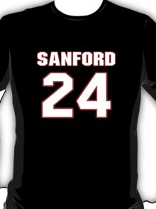 NFL Player Jamarca Sanford twentyfour 24 T-Shirt