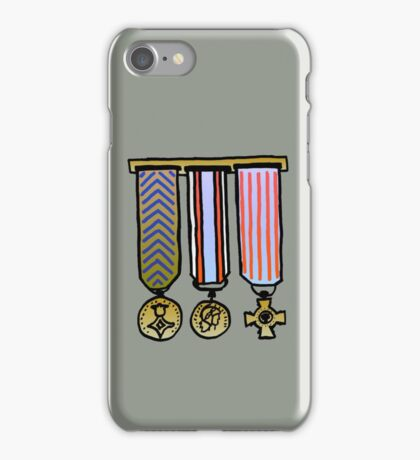 Military medals iPhone Case/Skin