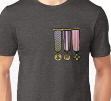 Military medals Unisex T-Shirt