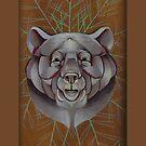 bear animal totem by resonanteye