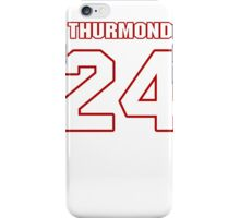 NFL Player Walter Thurmond twentyfour 24 iPhone Case/Skin