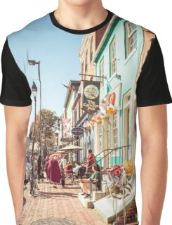 Street in Baltimore Graphic T-Shirt