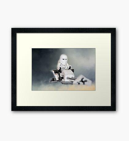 Star Wars Lego Stormtrooper Framed Print